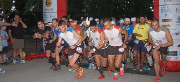Ο Αλέξανδρος Σχορτσιανίτης του ΟΠΟΠ στον Olympus Marathon 2014