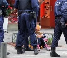 Σύλληψη 35χρονου επαίτη στα Τρίκαλα