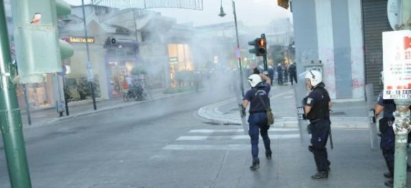 """Η Αστυνομία πρωταγωνίστρια στη """"μισή"""" ορκωοσία του Περιφερειακού Συμβουλίου Θεσσαλίας"""
