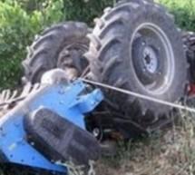 Αγρότης καταπλακώθηκε από τρακτέρ στην Παλιουριά Λάρισας