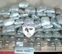 Συνελήφθη Βολιώτης με πάνω από  85 κιλά κάνναβη