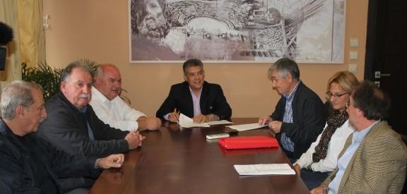 Στη συντήρηση τμημάτων της Ε.Ο. Λάρισας – Τρικάλων προχωρά η Περιφέρεια Θεσσαλίας