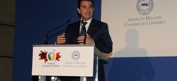 Κ. Σκρέκας: «Ενισχύουμε την υγιή επιχειρηματικότητα»