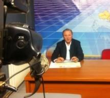 """Από το studio της ΤΡΤ στα Τρίκαλα """"ξεκίνησε και έκλεισε"""" , ο προεκλογικός αγώνας του Σάκη Παπαδόπουλου"""