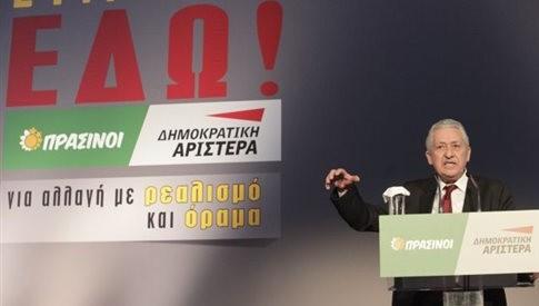 «Όχι αυτοδυναμία του ΣΥΡΙΖΑ, ψήφο στους Πράσινους – Δημοκρατική Αριστερά»