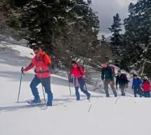 Ο Ορειβατικός Όμιλος Πύλης ανέβηκε στη χιονισμένη «Μπουντούρα»