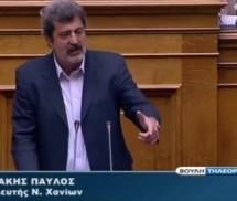 Ο σφακιανός βουλευτής του ΣΥΡΙΖΑ δεν αφήνει σε χλωρό κλαρί το Μέγκα