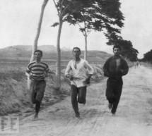 Προπόνηση Ελλήνων μαραθωνοδρόμων το 1896