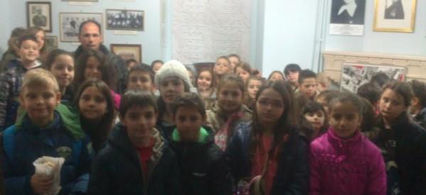 Επίσκεψη του Δημοτικού Σχολείου Φήκης στο Δημοτικό Ιστορικό Αθλητικό Μουσείο