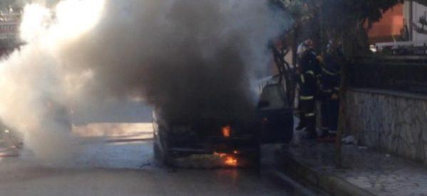 Πυρπόλησαν αυτοκίνητο επιχειρηματία στα Τρίκαλα