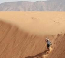 Μετά το Έβερεστ, το Αιγαίο και τη Μάγχη, ο Γιώργος Τσιάνος έχει βάλει πλώρη να κατακτήσει και την έρημο Σαχάρα