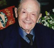 Σε ηλικία 104 ετών έφυγε από τη ζωή ο αιωνόβιος  Νικόλαος Ευσταθίου