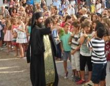 Την Τρίτη 15 Σεπτεμβρίου ζητά η Εκκλησία να γίνει ο αγιασμός στα σχολεία