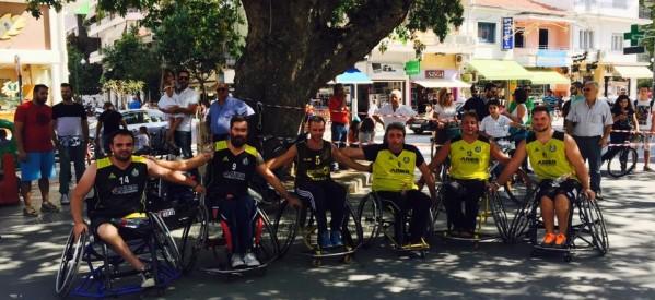 Τρίκαλα – Με επιτυχία οι δράσεις για την Εβδομάδα Κινητικότητας – μπάσκετ με αμαξίδια στην πλατεία Δεσποτικού