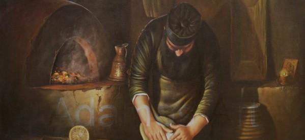 Έργα του Καλαμπακιώτη Κώστα Αδάμου στην Θεολογική Πινακοθήκη Ιεράς Μονής Μεγάλου Μετεώρου