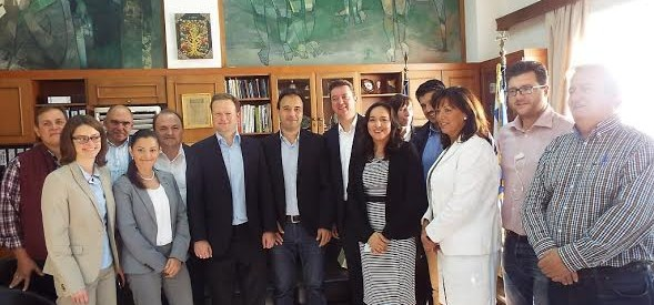 Επίσκεψη Γερμανικής αντιπροσωπείας στο Δημαρχείο Τρικάλων
