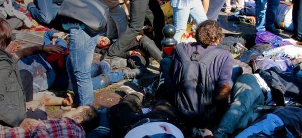Μακελειό στην Άγκυρα: Τουλάχιστον 97 οι νεκροί από τις εκρήξεις