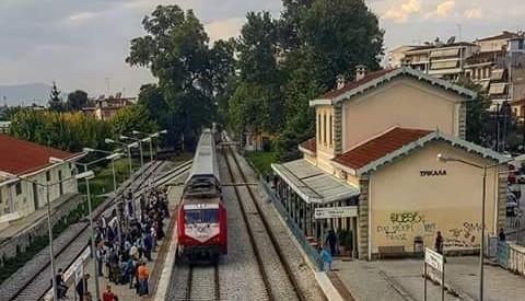 """""""Σφυρίζει"""" το τρένο Καλαμπάκα – Αθήνα"""