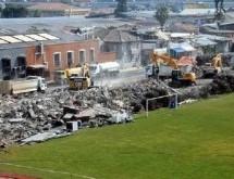 Γκρεμίστηκε το ιστορικό γήπεδο του Πανιωνίου στη Σμύρνη (Photos