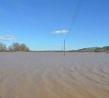 Ο Πηνειός ξεχείλισε…και «πνίγει» τους αγρότες Δήμου Φαρκαδόνας