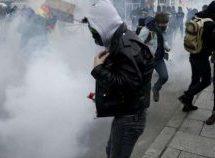 Διαδηλώσεις σε όλη την Γαλλία – Καταστολή και δακρυγόνα από την αστυνομία