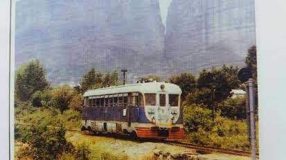 Mίνι… σιδηροδρομικό μουσείο στα Τρίκαλα