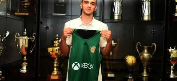 Στον Παναθηναϊκό, o 16χρονος  καλαθοσφαιριστής Θανάσης Αμβράζης