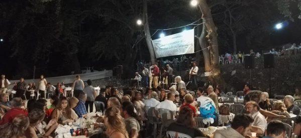 Μεγάλη επιτυχία σημείωσε η γιορτή Πέστροφας στην Παλαιοκαρυά Τρικάλων