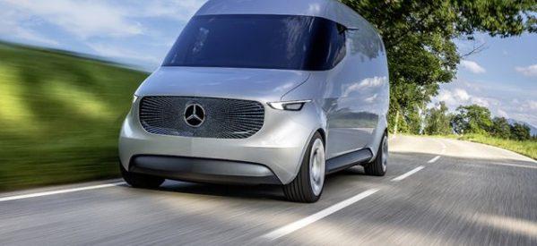 Η Mercedes μόλις μας έστειλε δεκάδες χρόνια στο μέλλον – Δείτε το απίστευτο, νέο, ηλεκτρικό της… βανάκι!