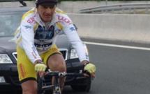 Εκκίνηση του γύρου της Ευρώπης με ποδήλατο από τον Στέλιο Βάσκο