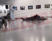 Νέο ανατριχιαστικό βίντεο ντοκουμέντο από τη δολοφονική επίθεση στον Ρώσο πρέσβη (Video – σκληρές εικόνες)