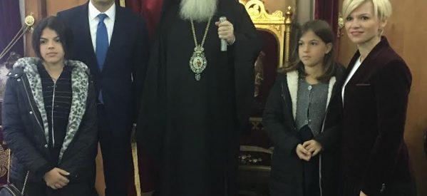 Στον Πατριάρχη Ιεροσολύμων ο Κ. Σκρέκας