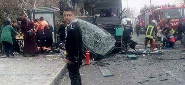 Τουρκία: Έκρηξη σε λεωφορείο –  13 οι νεκροί