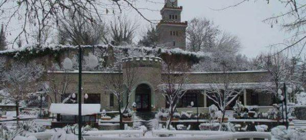 Τρίκαλα – Καταπληκτική φωτογραφία από το χιονισμένο Φρούριο