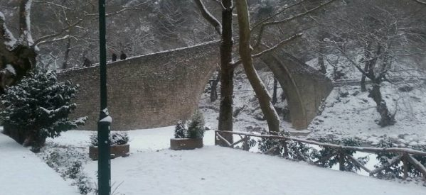 Noμός Τρικάλων – Εφτασε το 1 μέτρο το χιόνι στα ορεινά – Πού χρειάζονται αλυσίδες