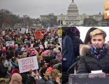 Ουάσινγκτον: Σχεδόν 500.000 άνθρωποι στην κύρια πορεία των «pussyhats» κατά του Τραμπ