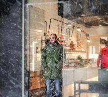 Τρικαλινές όμορφες «χιονισμένες»…. εικόνες