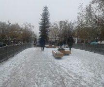 Ολικός παγετός σήμερα Κυριακή στα Τρίκαλα