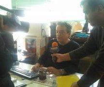 Ο Φουντούνας το καινούργιο αστέρι της δημοσιογραφιας!!!