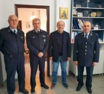 Επίσκεψη του Χρήστου Σιμορέλη στην Αστυνομική Διεύθυνση