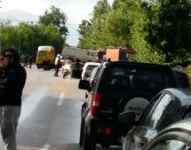 Tροχαίο ατύχημα στα Τρίκαλα