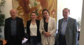 Συνάντηση των βουλευτών του ΣΥΡΙΖΑ Τρικάλων με την Υπουργό Πολιτισμού