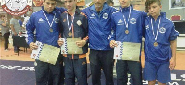 Στο ευρωπαϊκό πρωτάθλημα δυο αθλητές του ΑΠΣ Τρίκαλα