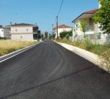 Aσφαλτοστρώσεις σε Koινότητες του Δήμου Τρικκαίων