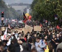 Μεγάλες διαδηλώσεις στο Παρίσι κατά της  μεταρρύθμισης του εργασιακού κώδικα