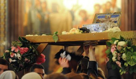 Η Αγία Ζώνη στη Λάρισα