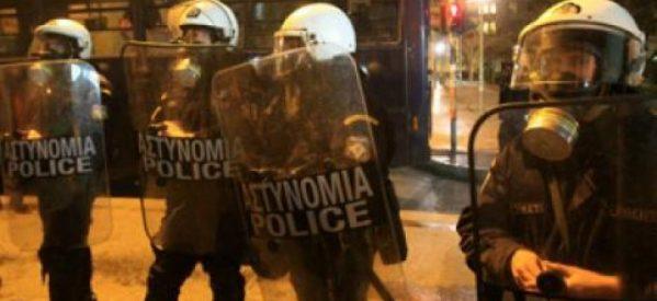 Τρίκαλα – Eπεισόδια ΜΑΤ και διαδηλωτών στην Ασκληπιού