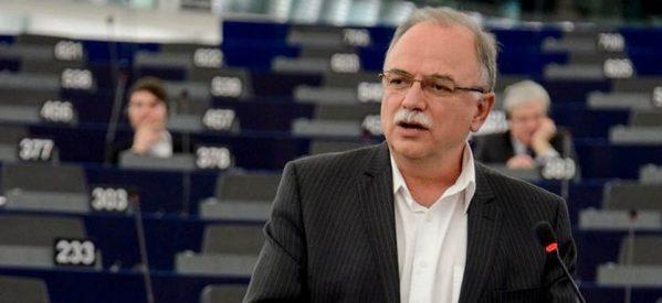 Δημήτρης Παπαδημούλης: «Να επιταχύνουμε τον βηματισμό μας για να ολοκληρωθεί η 4η αξιολόγηση, η περαιτέρω ελάφρυνση του χρέους και η έγκριση του μεταμνημονιακού προγράμματος 'made in Greece'»