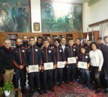 Ο Δήμαρχος Τρικκαίων βράβευσε αθλητές του «ΑΠΣ Τρίκαλα»