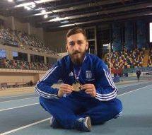 Ο Κώστας Ζήκος ο πιο γρήγορος Έλληνας αθλητής στα 60μ κλειστού στίβου στο 17ο Δημοτικό Σχολείο Τρικάλων